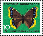 [Charity Stamps - Butterflies, type GW]