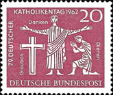 [The German Annual Day of Catholism, type HA]