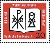 [The 150th Anniversary of Württemberg Bible Publisher, type HB]