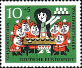 [Charity Stamps - Snow White, type HE]