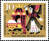 [Charity Stamps - Fairy Tales, Typ JK]