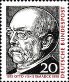 [The 150th Anniversary of the Birth of Otto von Bismarck, type KA]