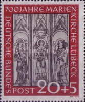 [The 700th Anniversary of the Lübeck Marie Church, type L1]