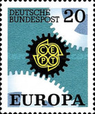 [EUROPA Stamps, Typ MO]