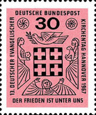 [The 13th Anniversary of the German Evangelical Church Day, type MQ]