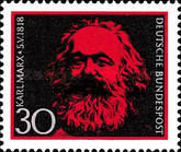 [The 150th Anniversary of the Birth of Karl Marx, Typ NM]