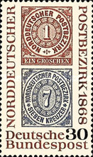 [The 100th Anniversary of the Norddeutscher Postbezirk, Typ NW]