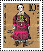 [Charity Stamps - Dolls, Typ NY]