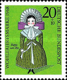 [Charity Stamps - Dolls, Typ NZ]