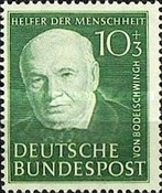 [Charity Stamps for Helpers of Humanity, type O]