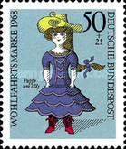 [Charity Stamps - Dolls, Typ OB]