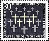 [The 50th Anniversary of the Perservation of German War Graves, type OM]