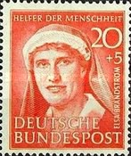 [Charity Stamps for Helpers of Humanity, type P]