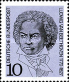[The 200th Anniversary of the Birth of Beethoven,Hegel and Hölderlin, Typ PQ]