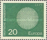 [EUROPA Stamps, Typ PU]