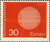 [EUROPA Stamps, Typ PU1]