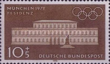 [Olympic Games - Munich, Germany, type PX]