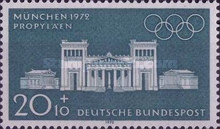 [Olympic Games - Munich, Germany, type PY]