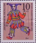 [Charity Stamps - Marionettes, Typ QM]