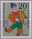 [Charity Stamps - Marionettes, Typ QN]