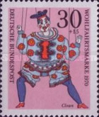 [Charity Stamps - Marionettes, Typ QO]