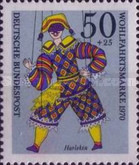 [Charity Stamps - Marionettes, type QP]