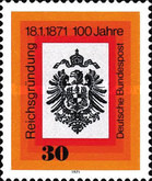 [The 100th Anniversary of the german Empire, type QU]