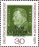 [The 100th Anniversary of the Birth of Friedrich Ebert, Typ QV]