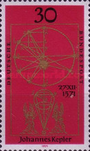 [The 400th Anniversary of the Birth of Johannes Kepler, type RX]