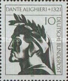 [The 650th Anniversary of the Death of Dante Alighieri, type RY]