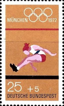 [Olympic Games - Munich, Germany, type TG]