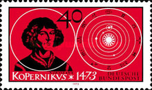 [The 500th Anniversary of the Birth of Nicolaus Copernicus, Typ UE]