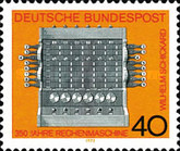 [The 350th Anniversary of the Invention of the Calculating Machine, Typ UW]