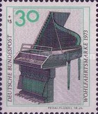 [Charity Stamps - Musical Instruments, Typ VB]