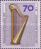 [Charity Stamps - Musical Instruments, Typ VD]