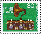 [The 50th Anniversary of German Broadcasting, Typ VE]