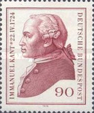 [The 250th Anniversary of the Birth of Immanuel Kant, Philosopher, Typ VY]