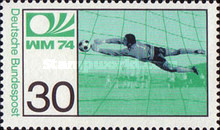 [Football World Cup - West Germany, Typ WD]
