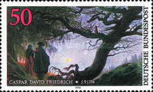 [The 200th Anniversary of the Death of Caspar David Friedrich, Painter, type WH]