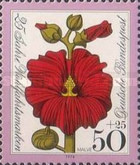 [Charity Stamps - Flowers, type WM]