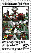 [The 500th Anniversary of the Siege of Neuss, type XJ]