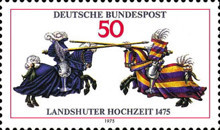 [The 500th Anniversary of the Landhuter Town, type XK]
