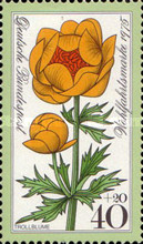 [Charity Stamps - Alpine Flowers, type YI]