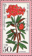 [Charity Stamps - Alpine Flowers, type YJ]