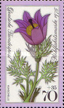 [Charity Stamps - Alpine Flowers, type YK]