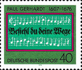 [The 300th Anniversary of the Death of Paul Gerhardt, Hymn Writer, Typ ZH]