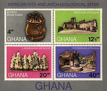 [Monuments and Archaeological Sites in Ghana, type ]