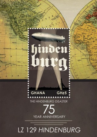 [The 75th Anniversary of the Hindenburg Disaster, type ]