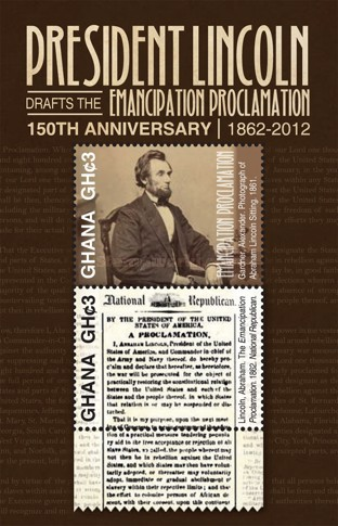 [The 150th Anniversary of the Emancipation Proclamation, type ]