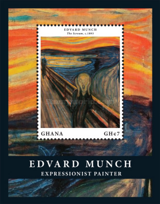 [The 150th Anniversary of the Birth of Edvard Munch, 1863-1944, type ]
